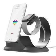 phone holder desk Charging dock station for Apple Watch stand S4/3/2/1Aluminum charger  charge iPhone
