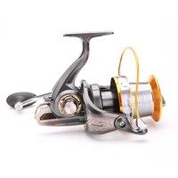 FDDL Fishing Reel 12+1BB Bearings Baitcasting Distant Wheel Reel 5.2:1 Long Shot Fishing Reel Carp Fishing Coils Gear carretilha