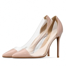 Sexy Pointed Toe High Heels Party Women Shoes Patent Leather Women Pumps Office Ladies Shoes Women Heels Size:34-46 J0001 plus size 34 46 fashion high heels shoes women pumps square heel pointed toe dress pumps shallow party stilettos ladies footwear