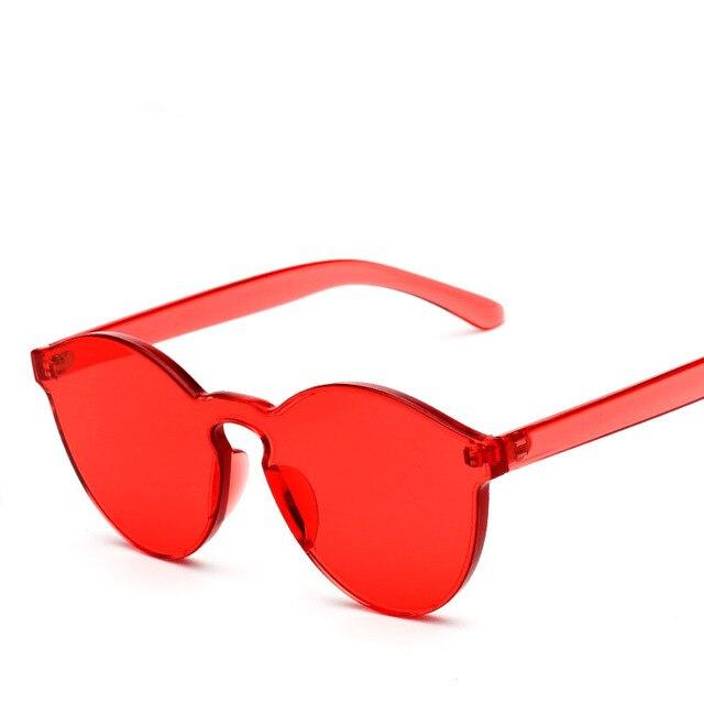 Retro vintage mulheres sem aro óculos de sol carter feminino cat eye marca  lunette óculos de eeeb0b4fcc