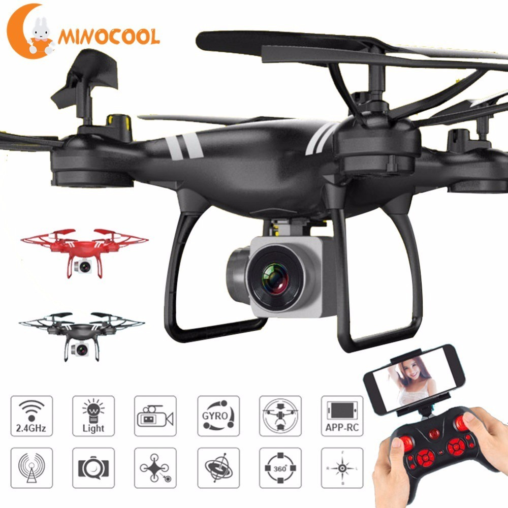 KY101 2.4 GHz RC Quadcopter-axis Giroscopio Quadcopter FPV Mantenimento di Quota con Fotocamera Drone Telecomando Intelligente