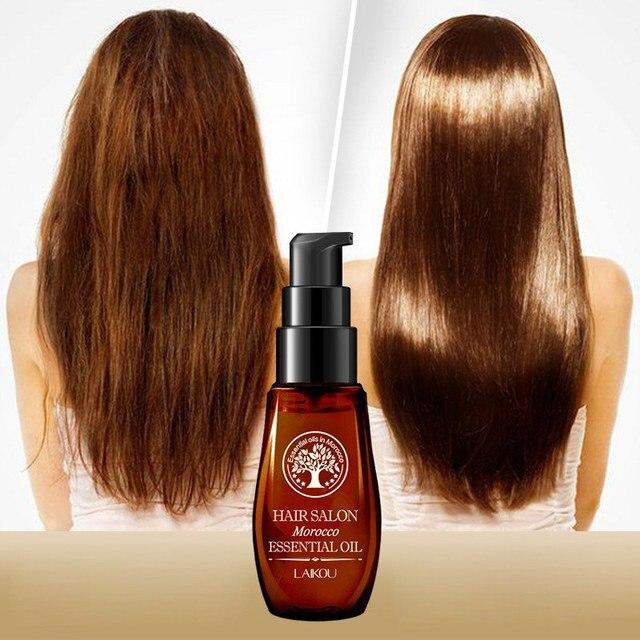 Naturel Maroc Huile Hydratante Endommagé Cheveux 1