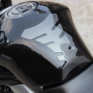 3D Carbon Fiber Fishbone Stickers Car Motorcycle Tank Pad Tankpad Protector For Honda Kawasaki Yamaha Suzuki Bmw Universal