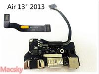 Tested A1466 Power Boar for MacBook Air 13 I/O Audio Board USB DC Jack 2012 2013 820 3455 A 820 3214 A Cable 821 1722 A 1477 A
