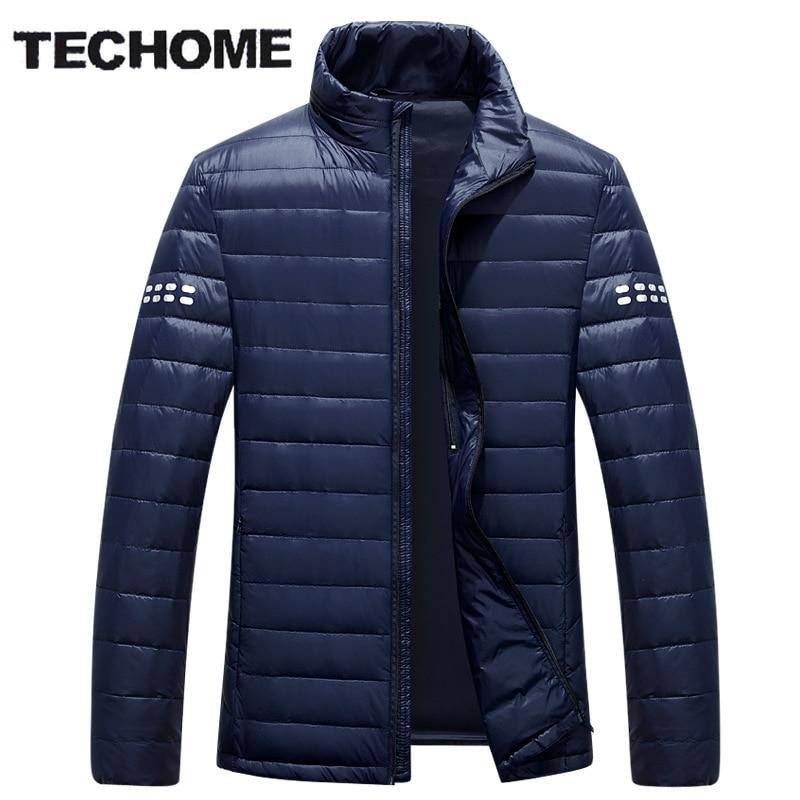 2016 New Ultra Light Duck Down Jacket Men Feather Man Winter Parka Coats Light Down Jacket Winter Long Sleeve Solid Winter Coats