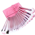 Gift Bag Of 22pcs Makeup Brush Sets Professional Cosmetics Brushes Eyebrow Powder Foundation Shadows Make Up Tools