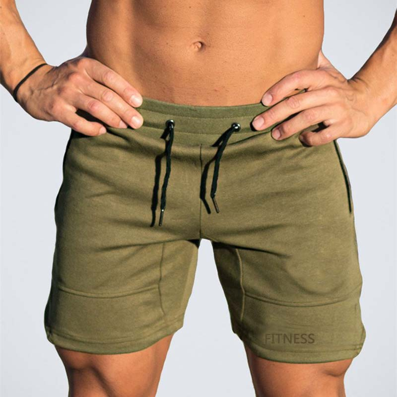 Men's GYM  Bodybuilding Short  Fitness Shorts  New Summer  Sports Short Workout Gyms Running Short Male Exercise Clothes(China)