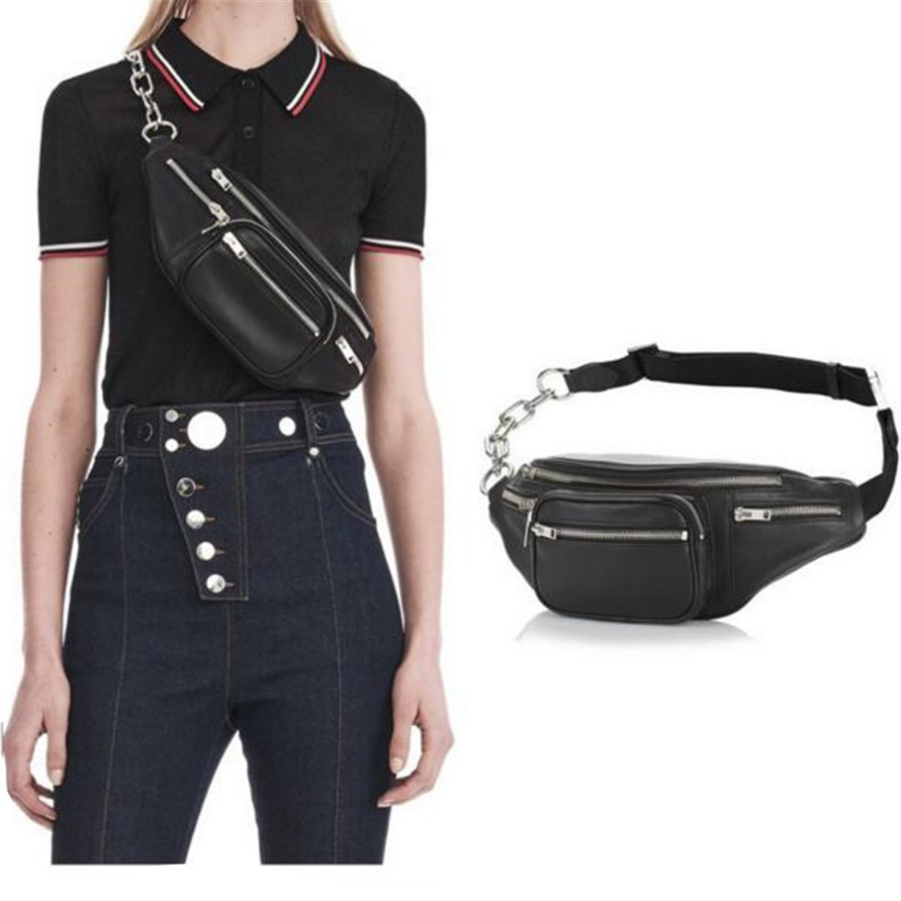 Multi-pocket Men Fashion Waist Bags Waist Pack Belt Bag Women Leather Fanny Pack Zipper Chest Bag Crossbody Bags Female Ladies цена