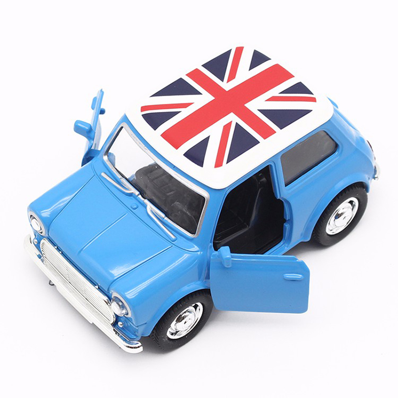 Mini Diecast Metal Car Toy 1:38 Scale Draga Back Simulation Alloy Cars Vintage Auto Modell Collection Car Oyuncak för Kids Boy