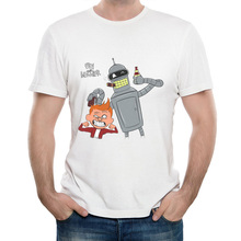 """Fry and Bender"" beer men's shirt"