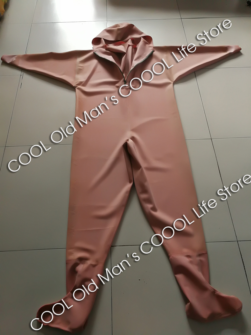 Thick Red Rubber Fishing Waders (Overalls) 13
