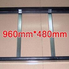 2 комплекта/упаковка Gicl-3590 алюминиевой рамкой, размер экрана 960*480 мм; подходит для P5 P10 светодиодный дисплей