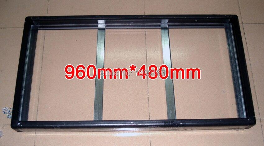 Где купить 2 комплекта/упаковки, Gicl-3590 алюминиевой рамой, размер экрана 960*480 мм, подходит для светодиодной панели P5 P10