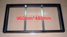 """2 Set/חבילות Gicl 3590 מסגרת אלומיניום, גודל מסך 960*480 מ""""מ; להיות מתאים P10 P5 לוח תצוגת LED"""