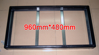 2 Set/Packs Gicl 3590 Aluminum frame,Screen Size 960*480mm; be suitable for P5 P10 LED display Panel