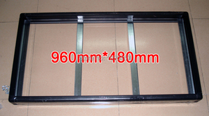 Image 1 - 2 Set/Packs Gicl 3590 Aluminum frame,Screen Size 960*480mm; be suitable for P5 P10 LED display Panel