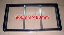 2 Set/Packs Gicl 3590 telaio In Alluminio, Dimensioni Dello Schermo 960*480mm; essere adatto per P5 P10 LED Pannello di visualizzazione