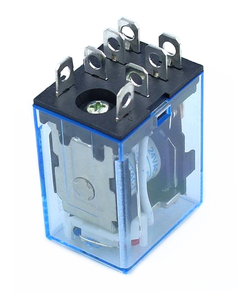 Image 2 - 10 pz relè LY2NJ DC12V DC24V AC110V AC220V piccolo relè 10A 8 pin bobina DPDT con Base presa