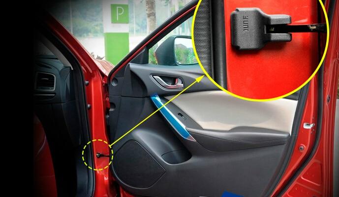 Автоматични врати проверяващи - Аксесоари за автомобилния интериор - Снимка 2