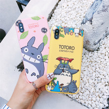 Happy Totoro Phone Cases For iPhone 6 6S 7 8 Plus  X XS MAX XR