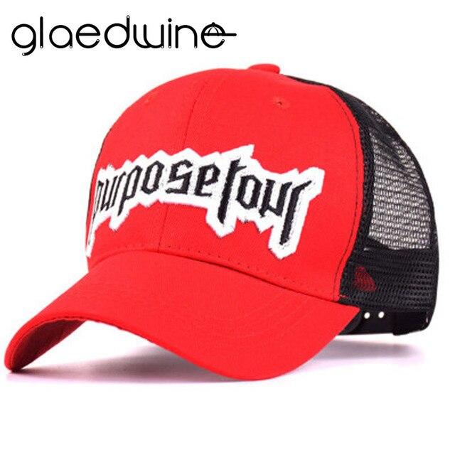 8b2fcb570cc 2018 New Embroidered Baseball Cap Fashion 3D Style Justin Bieber Hat High  Street Dark Fans Snapback Cap DAD Hats For men women
