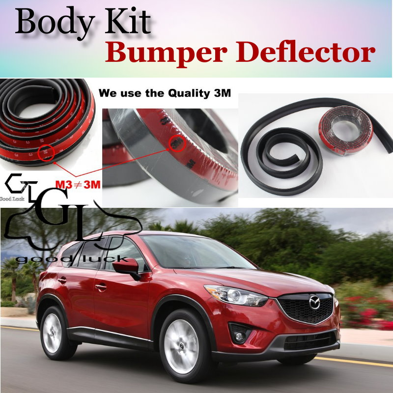 buy for mazda cx5 cx 5 cx 5 2013 2017 bumper lip front spoiler deflector. Black Bedroom Furniture Sets. Home Design Ideas