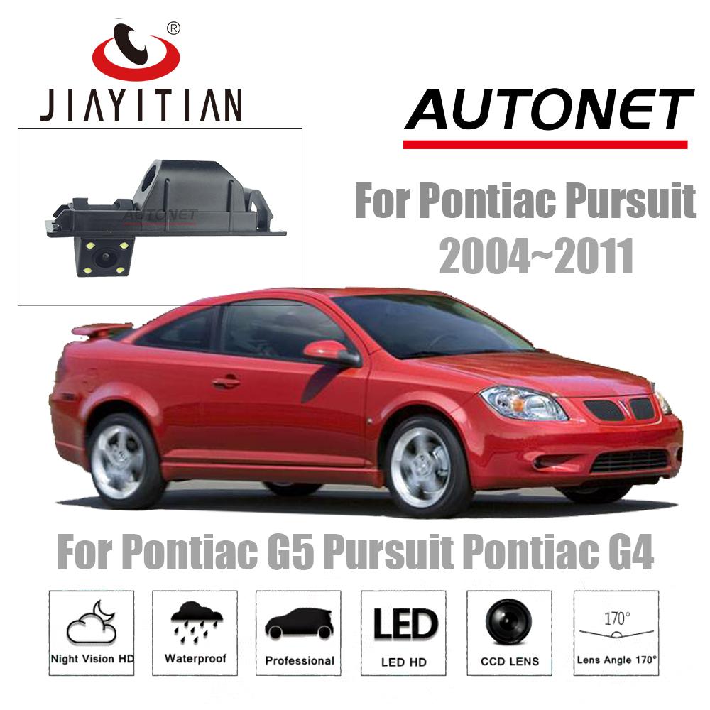 JiaYiTian rear camera For Pontiac G5 Pursuit for Pontiac G4 2004~2011 CCD Night Vision license plate camera Reverse Camera