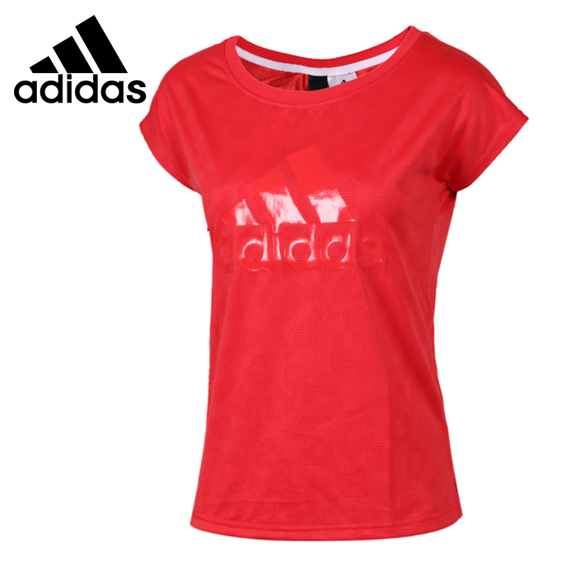 Original Adidas SS T LEOPARD Women s T shirts short sleeve Sportswear