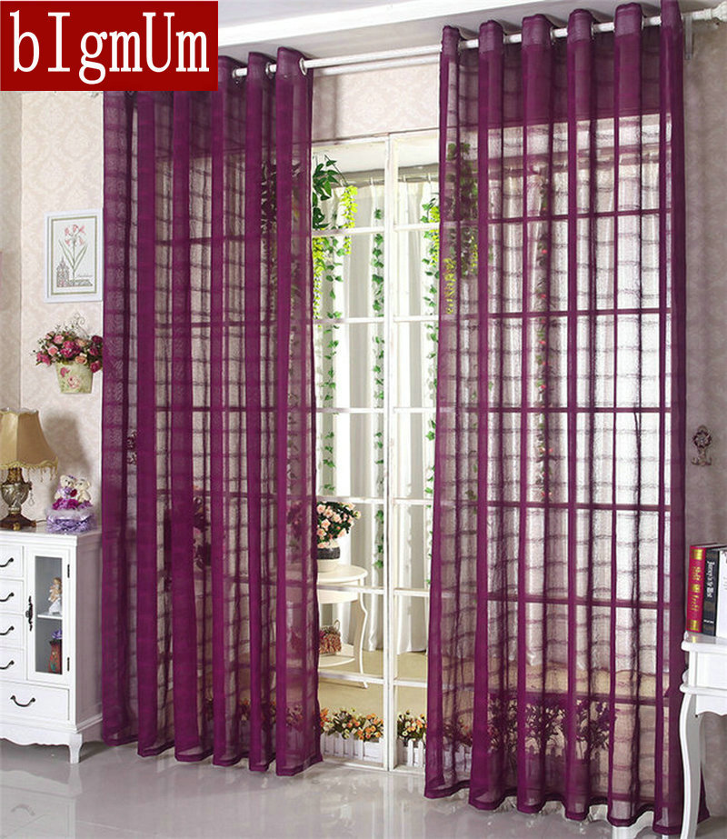 buy linen tulle sheer voile curtains. Black Bedroom Furniture Sets. Home Design Ideas