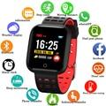 Спортивный умный Браслет IP68 Водонепроницаемые часы фитнес-трекер пульсометр Сфигмоманометр несколько спортивных режимов часы для Android IOS