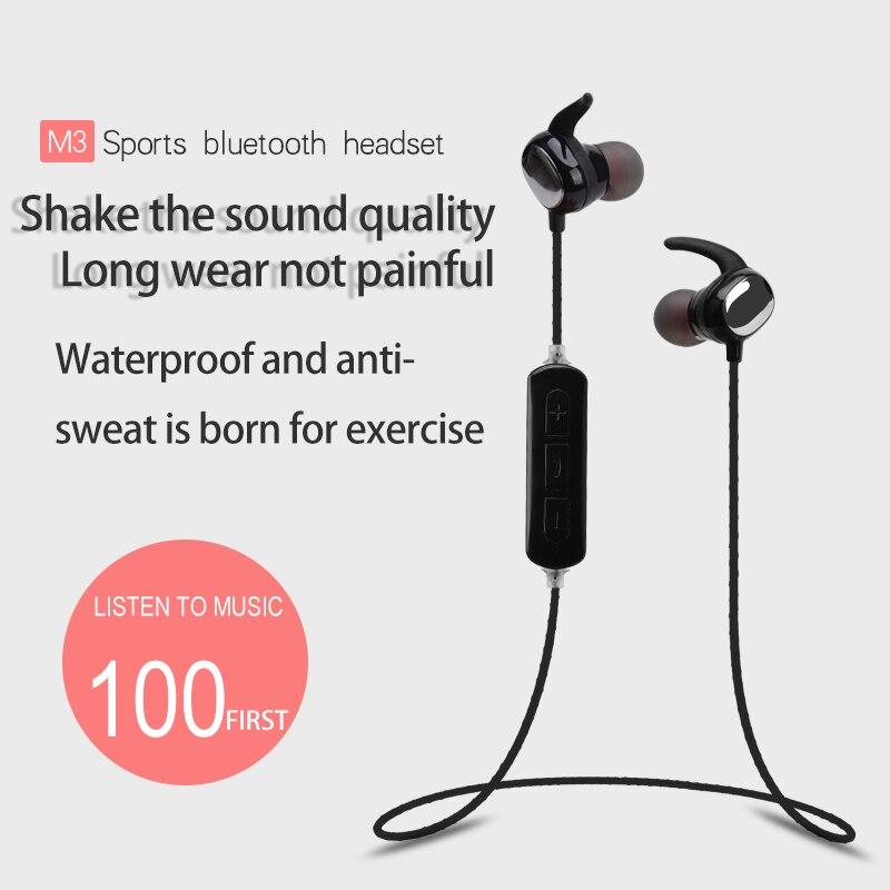 YISHANGOU Wireless Bluetooth In-ear Sports Earphone Headset Waterproof Earbuds Noise Cancelling With Mic For Smart Phone Model