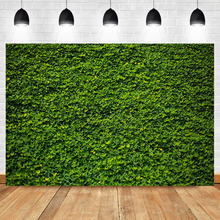 NeoBack Spring Backdrop Green Lawn Birthday Background Photography Vinyl Custom Backdrops