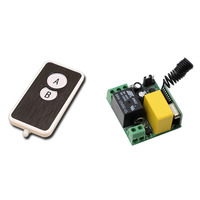 Direct Sale AC220V 1CH 10A Remote Control Light Switch Relay Output Radio Mini Receiver Module And