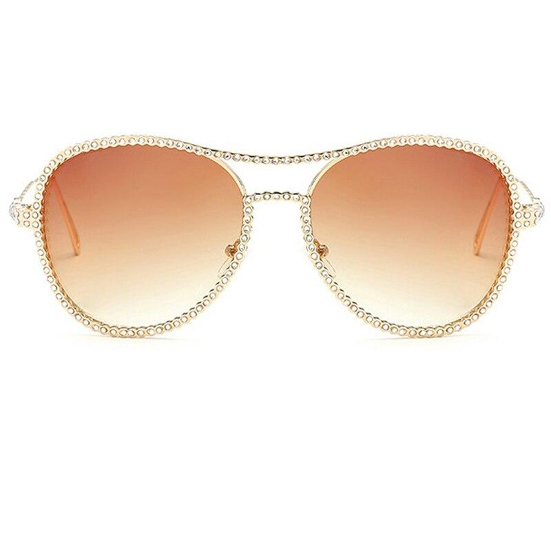 Aloz Lens Lusso Micc Brown Sole Specchio C1 Lente Signora Occhiali Donne Colorato Pink A Rivestimento Grey Di Da Gradient Pilot Della Q200 Diamanti c3 c2 Uv400 Retro rqrwFxt