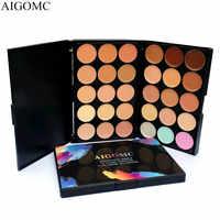 AIGOMC 15 Colors Contour Palette Foundation Base Makeup Palettes Cosmetics Concealer Palette Face Primer Cream Beauty Contouring