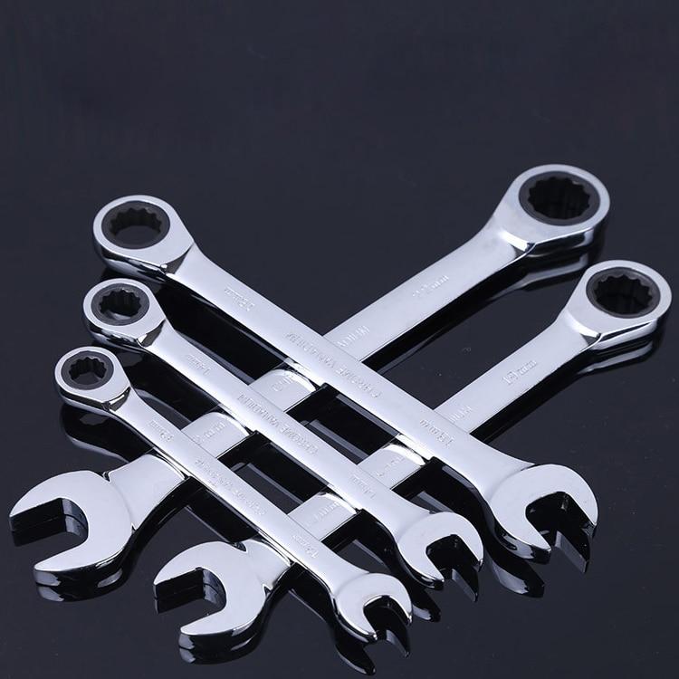 8-18mm ráčna kombinovaná metrická klíčová sada ručních - Ruční nářadí - Fotografie 5