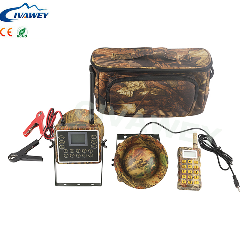 With remote controller Mix Voice 60W Electronic Bird Caller Hunting duck goose bait hunting sounds mp3