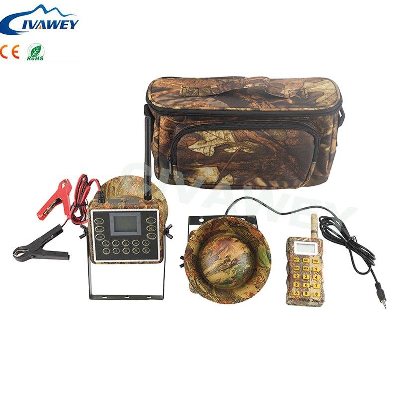 リモートコントローラーミックス音声 60 ワットの電子鳥発信者狩猟アヒルガチョウ餌狩猟音 mp3 プレーヤータイマー  グループ上の スポーツ & エンターテイメント からの 狩猟おとり の中 1
