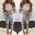 Fashion Bandage Long Sleeve Women Fashion Jumpsuits New Hot Sexy Women Rompers Casual Outfits