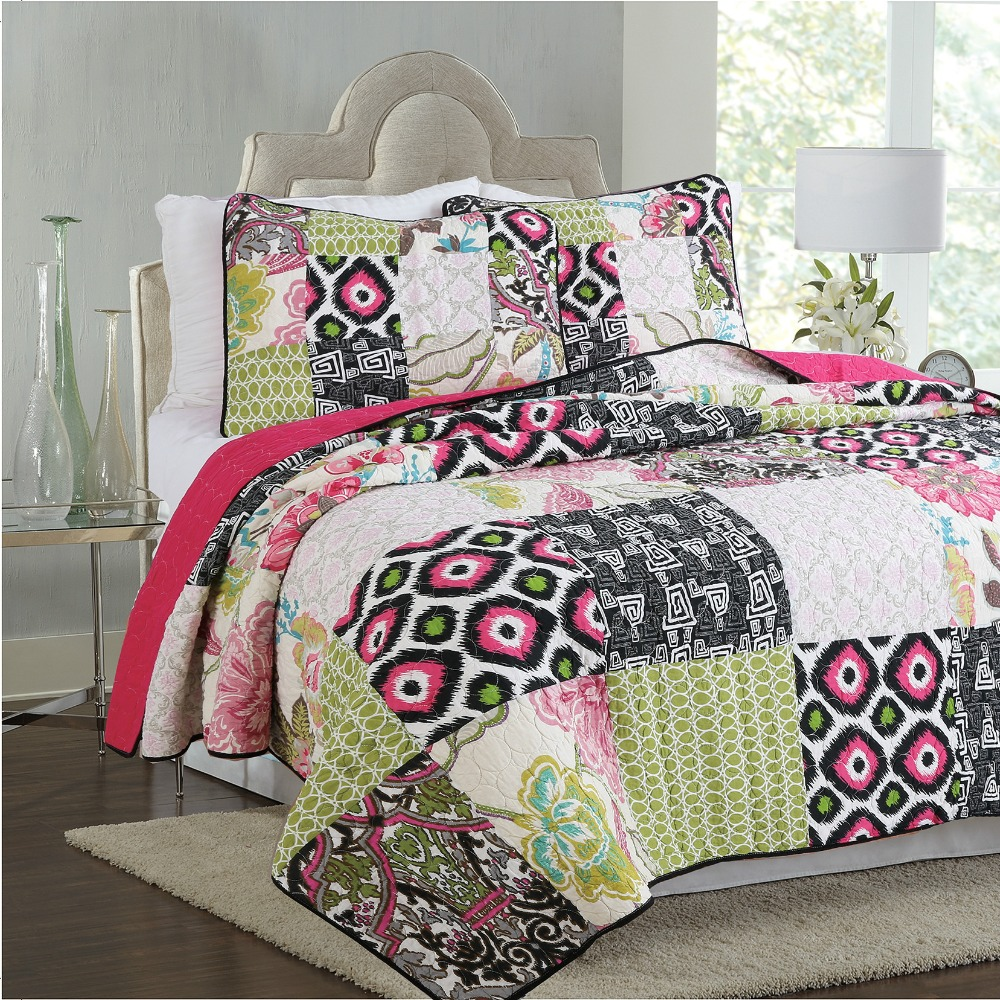 rustic warm quilts quilt multi p bedding plaid haven hillside bed