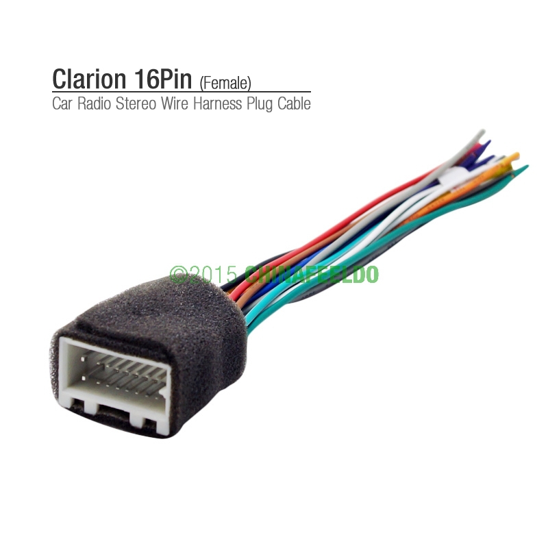 compare prices on wiring harness plug connectors online shopping car 16pin wire harness plug cable female connector for clarion car radio stereo aftermarket for mitsubishi