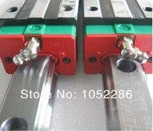 2 шт. 100% оригинал Hiwin HGR20-1524MM (60 дюймов) линейная руководство + 4 шт. HGH20CA узкие блоки