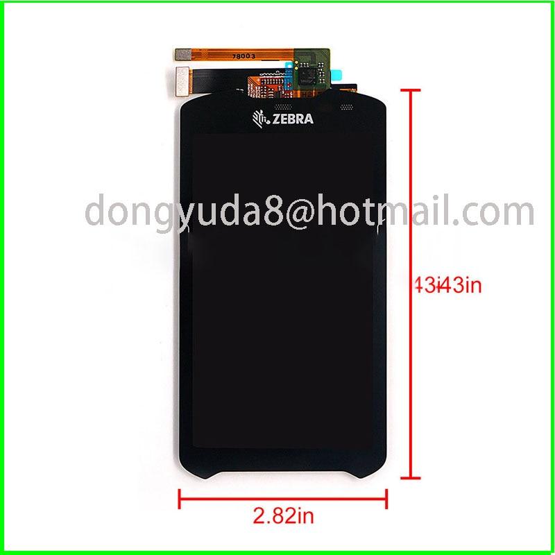 Spot New TM050JDHG33 LCD screen for Motorola Symbol zebra TC51 TC510K TC56 Touch Panel Digitizer glass