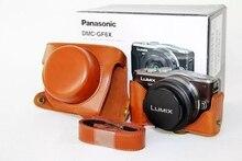 PU Leather Camera Bag Case For Panasonic GF3 GF5 GF6 DSLR Camera Bags case