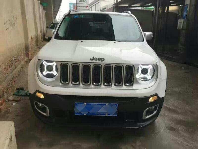 Bardzo dobra SONAR marki dla Jeep Renegade czarny projektor LED obiektyw TC78