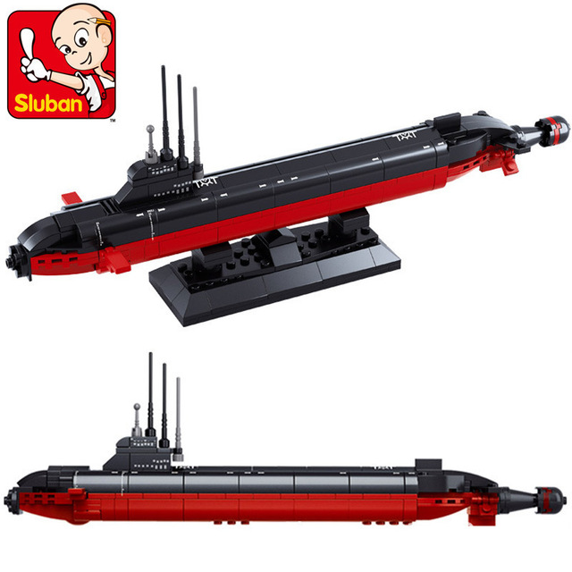 193pcs Sluban Nuclear Submarine 1