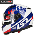 2017 New ls2 100% Genuine helmet limited edition motorcycle helmet LS2 double visor anti-fog visor free shipping FF328