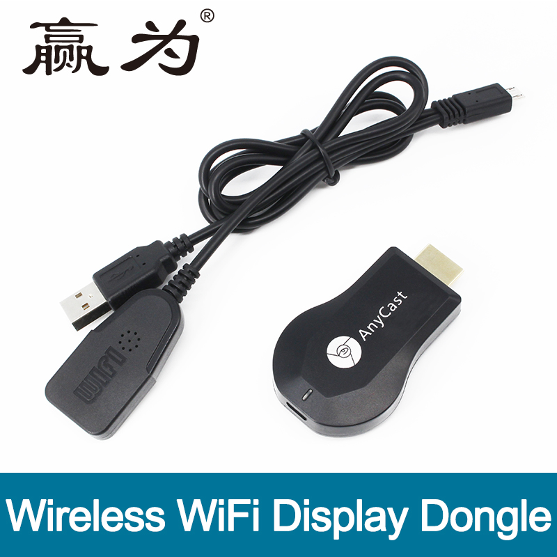 AnyCast M4 Plus Wireless WiFi Ricevitore Display Dongle 1080 P Interfaccia HD TV Stick DLNA Airplay Miracast per Smart Phone Tablet