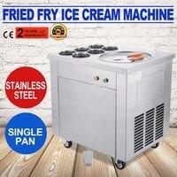 Fried Ice Cream machine Ice Cream Maker For Yogurt with 1 Pan 6 Buckets