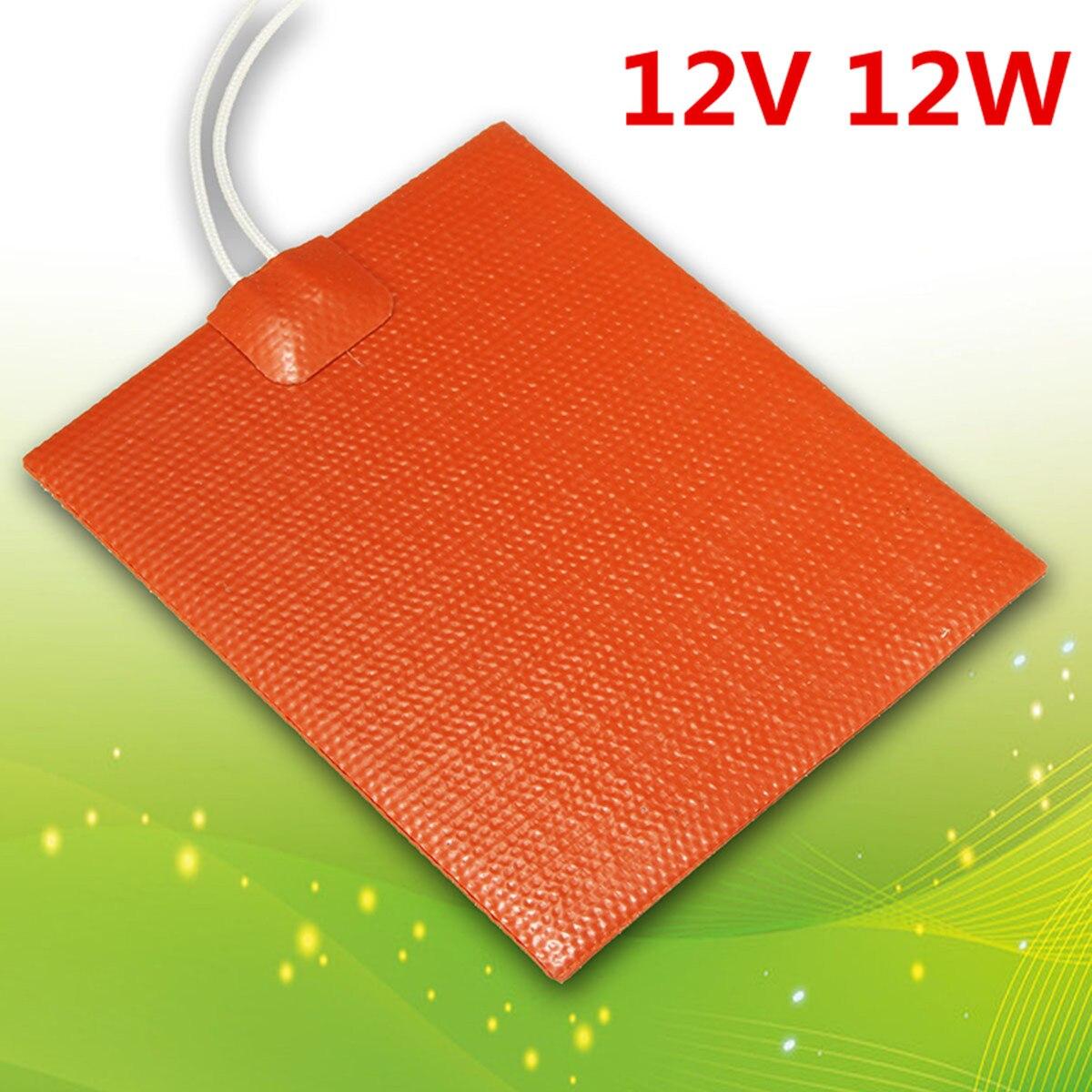 12x10 cm 12 V Hive Elektrische Heizung Platte Sparen Honig Imker Bee halten Ausrüstung 12 W